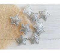 Мини-звёздочка с блеском, цвет серебро, 1шт