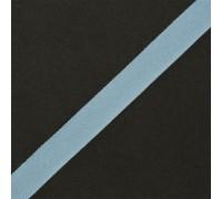 Тесьма киперная  17 мм цв.001 голубой, 1м