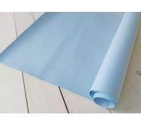 Переплётный кожзам, нежно-голубой, 33х 70 см