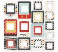 Рамочки Say Cheese II Chipboard Frames 24/Pkg