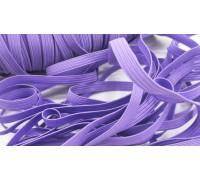 Резинка плоская, цвет фиолетовый, 1ярд