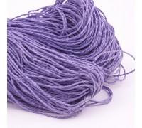 Бумажный крафт шнур фиолетовый, 1 м