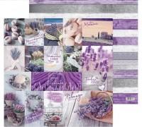 Бумага для скрапбукинга «Лавандовые мечты», 30.5 × 30.5 см