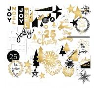 Высечки Joyful Mixed Bag Cardstock Die-Cuts