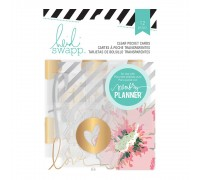 Карточки из ацетата Heidi Swapp Hello Beautiful Clear Pocket Cards 12/Pkg