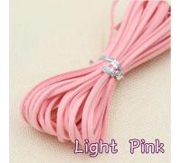 Замшевый шнур, розовый, 1м