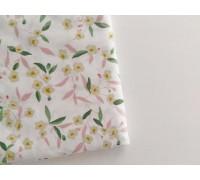 Отрез ткани с растительными элементами 3, размер 50х50 см