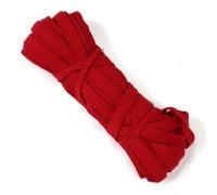 Резинка  7-8мм, цвет красный, 1м