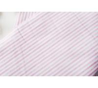 Ткань хлопок «Полосы розовые с потертостями», 40х 100 см