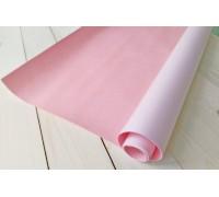 Переплётный кожзам, нежно-розовый, 33х70 см
