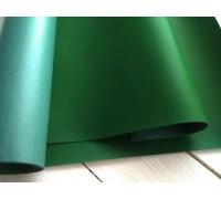 Переплётный кожзам, 50х35см, зелёный