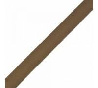 Тесьма киперная  17 мм цв.коричневый, 1м