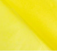 Бумага упаковочная тишью, жёлтый, 50 см х 66 см