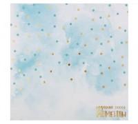 Бумага для скрапбукинга с фольгированием «Чудесные моменты», 20 × 20 см