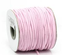 Резинка для блокнотов, цвет розовый, 1м