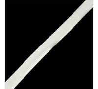 Тесьма киперная  13 мм цв.белый, 1м