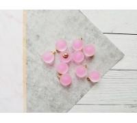 Подвеска «Шарик», цвет розовый матовый, 1шт
