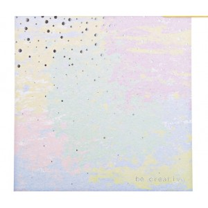 Бумага для скрапбукинга с фольгированием «Будь креативным», 20 × 20 см