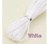 Замшевый шнур, белый, 1м