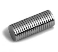 Магниты , 10 х 1,5 мм, 2шт (пара)