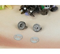 Магнитная кнопка, цвет чёрный, 14 мм