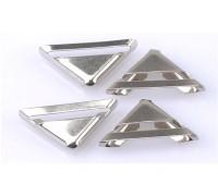 Уголки металлические,цвет серебро,23 x 17 мм, 1шт