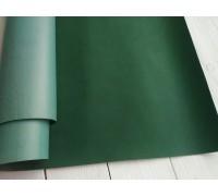 Переплётный кожзам,  тёмно-зелёный