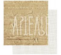 Лист двусторонней бумаги «Упакуй меня, если сможешь» из коллекции «ФОНОteka»
