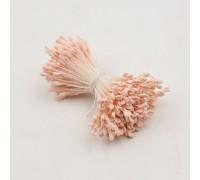 Тычинки матовые, светло-персиковые, 1 пучок