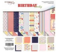 Набор бумаги «Birthday Party»
