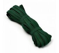 Резинка  7-8мм, цвет тёмно-зелёный, 1м