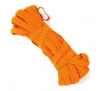 Резинка  7-8мм, цвет оранжевый, 1м