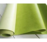 Переплётный кожзам, ярко-зелёный