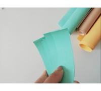 Отрез кожзама для хлястика, цвет мятный, 1 шт