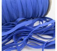 Резинка плоская, цвет синий, 1ярд