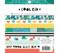 Набор бумаги Cool Kid 15х15 см