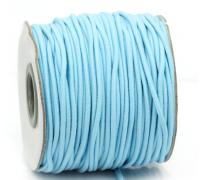 Резинка для блокнотов, цвет голубой, 1м