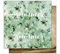 """Лист двусторонней бумаги """"City garden"""" , 190гр, 30,5*30,5см"""