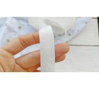 Резинка для блокнотов, белая с мерцанием, 1 ярд
