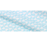 "Ткань "" Голубая волна"", размер 57х50 см"
