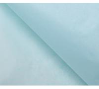 Бумага упаковочная тишью, голубой, 50 см х 66 см