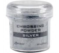 Пудра для эмбоссинга Super Fine Silver, серебро
