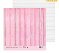 Бумага для скрапбукинга «Досочки», 20 х 20 см
