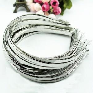 Основа для ободка 0,5 см, серебро, 1 шт