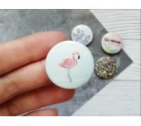 Фишка, фламинго, 1шт