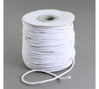 Резинка для блокнотов, цвет белый, 1м