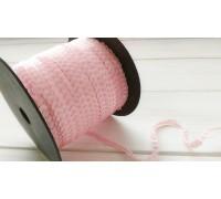 Пайетки на нити, нежно-розовый, 1ярд