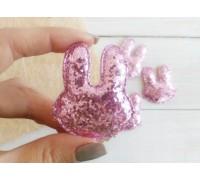 Заяц, цвет светло-розовый, 1шт