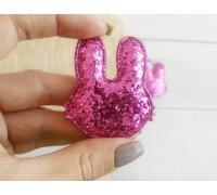 Заяц, цвет ярко-розовый, 1шт