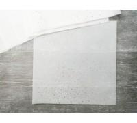 Калька декоративная c фольгированием «Горошек», 20 × 20 см, 1шт